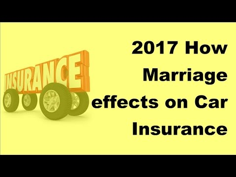 2017 How Marriage effects on Car Insurance Prices - Why Being Married Can Lower Your Car Insurance P