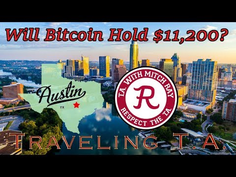 Bitcoin LIVE : Traveling T.A. From Austin, Texas! Episode 597 - Crypto Technical Analysis