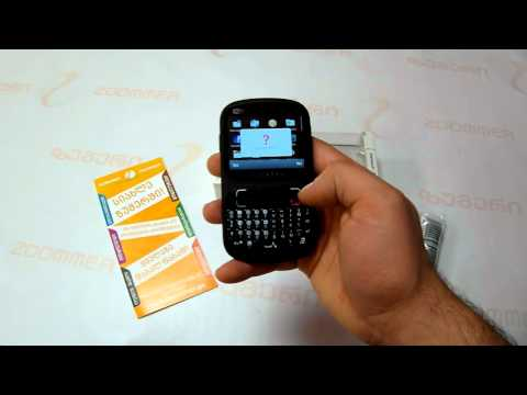 Alcatel OT-813D Video review by Zoommer