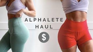 Alphalete Haul - New Releases (Leggings, Joggers, Shorts)