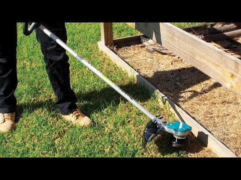 18Vx2 Brushless Line Trimmer - DUR368 - YouTube