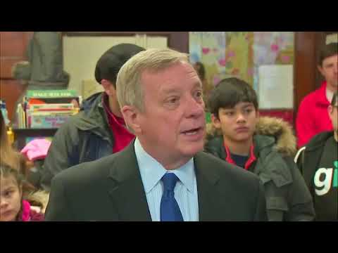 """Dick Durbin Comments on Cotton & Perdue Changing Their Accounts About Trump Saying """"Shithole"""""""