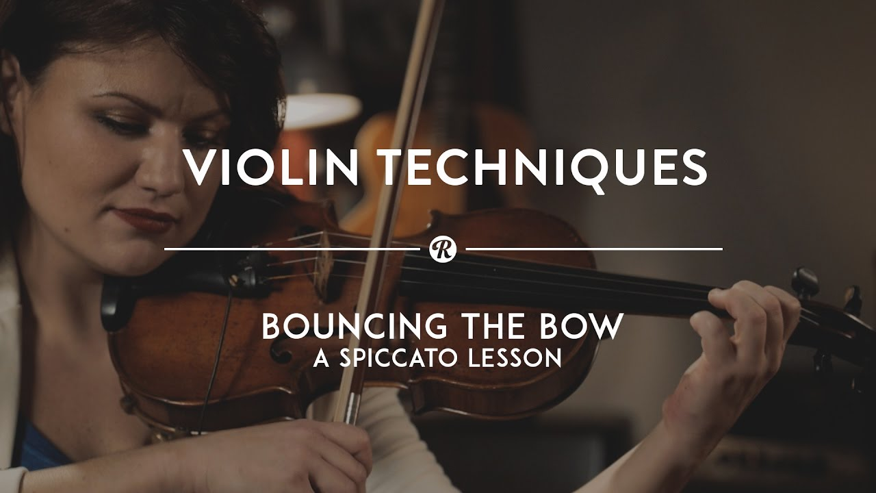 Violin Techniques: How to Play Spiccato   Reverb Violin Tricks