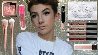 One of lookingforlewys's most viewed videos: Full Face of HIGH END First Impressions | Trying New Makeup