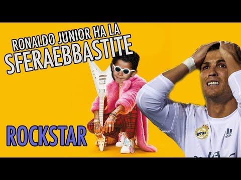 Ronaldo Junior ha la SFERAEBBASTITE  #ROCKSTAR 