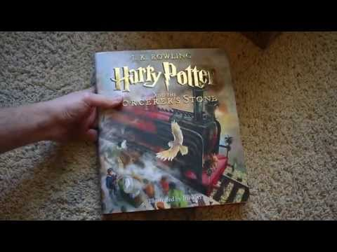 Harry Potter Illustrated Edition Unboxing + Size Comparison