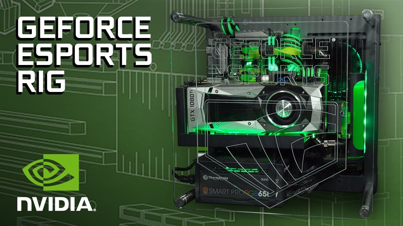 GeForce Garage: How To Build Our GeForce ESports Rig | GeForce