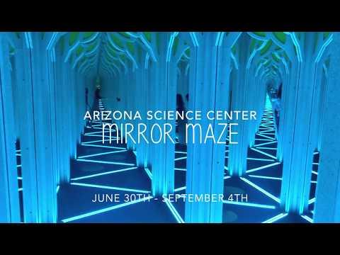 Arizona Science Center Mirror Maze