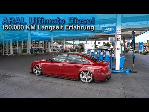150.000km NUR ARAL ULTIMATE DIESEL Im Audi 3.0TDI ! Unser Fazit   QUALITATIEF