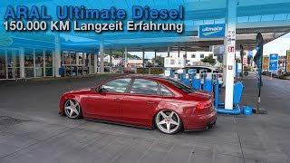 150.000km NUR ARAL ULTIMATE DIESEL im Audi 3.0TDI ! Unser Fazit | QUALITATIEF