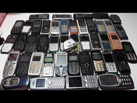 Посылка от подписчика 3 кг ретро телефонов Nokia за 3$ вот это посылон !!! 50 шт телефонов
