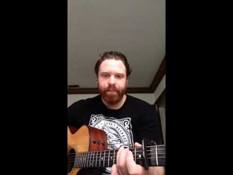 Radioactive chords and demonstration of a capo - YouTube