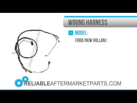 nc new ford n tractor wiring harness side mount 1385 8n14401c new ford 8n tractor wiring harness side mount distributor