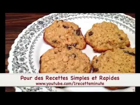 comment-faire-des-biscuits-à-l'avoine-et-aux-raisins-/-recette-facile-à-réaliser