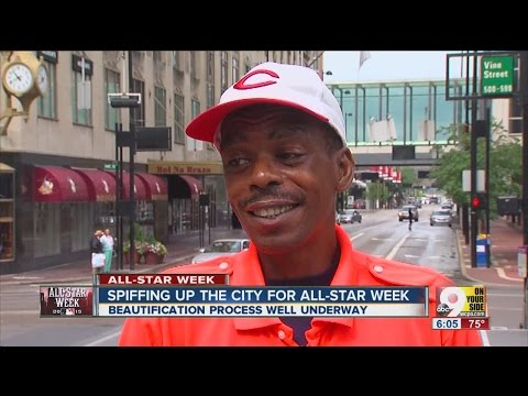 2015 All-Star Game: Spiffing up Cincinnati for All-Star Week