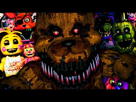 All Ultimate Custom Night Character Quotes / Voice Lines (Five Nights At Freddy's)