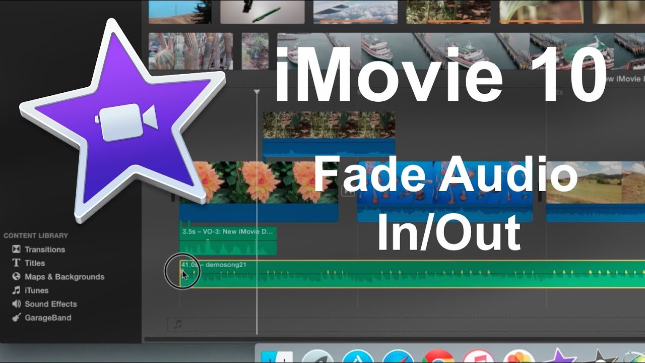 How to Fade Audio in iMovie Easily