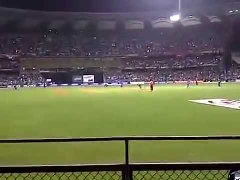 MSDHONI Six Worldcup Final 2011