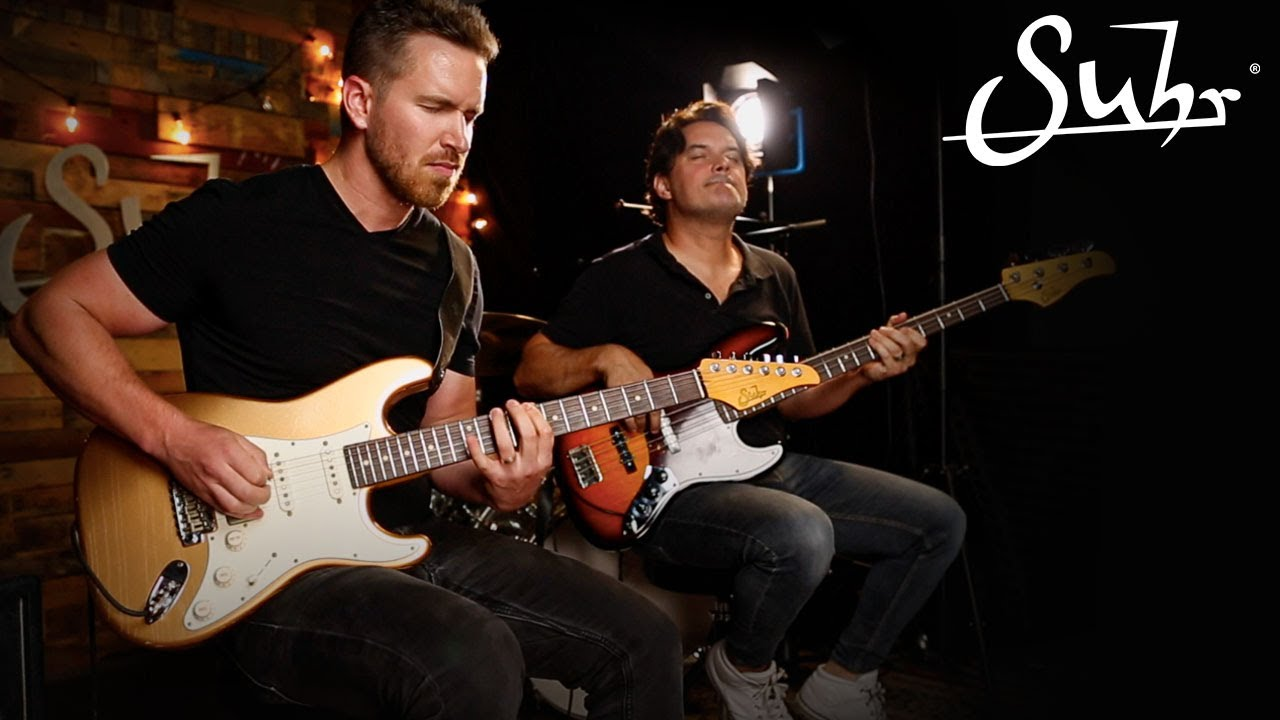 Matt Reviere and Mark Childers Live at the Suhr Factory!