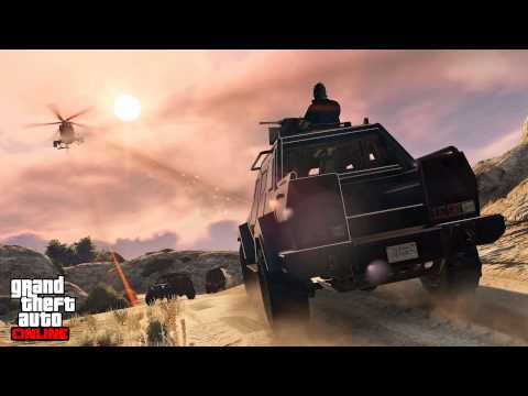 Grand Theft Auto Online Heists Soundtrack - Track 4 (Trailer music variation)