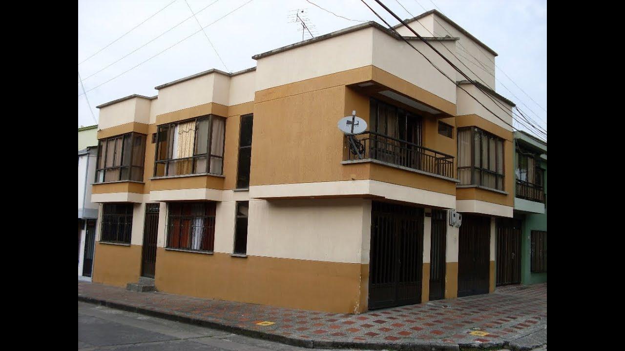 Vendo Casa esquinera dos rentas en Corales Pereira  YouTube