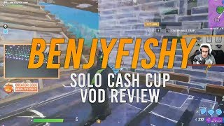 [VOD REVIEW] Benjyfishy Solo Cash Cup: Patience in Piece Control, Exceptional Awareness