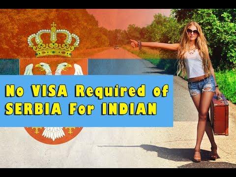 No Visa Required of Serbia For Indian May 2018 | Visa Free Access Arrival Visa