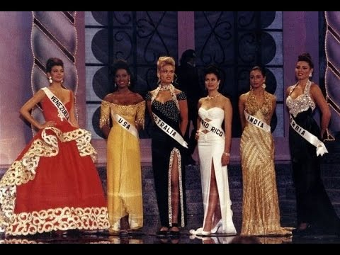 Miss Universe 1993  - Crowning Moment - India Makes It To The Top 6 - Full Show