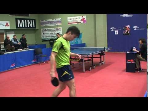 Max Xia vs Xuebo Li in U18 Quarter final