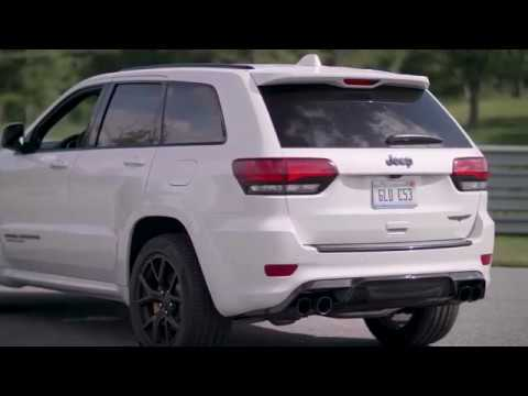 The Jeep Grand Cherokee Trackhawk Will Mess You Up Youtube