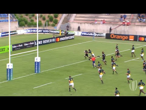 South Africa 40-30 New Zealand - World Rugby U20 Championshi
