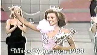 Miss America 1984 Crowning Moment
