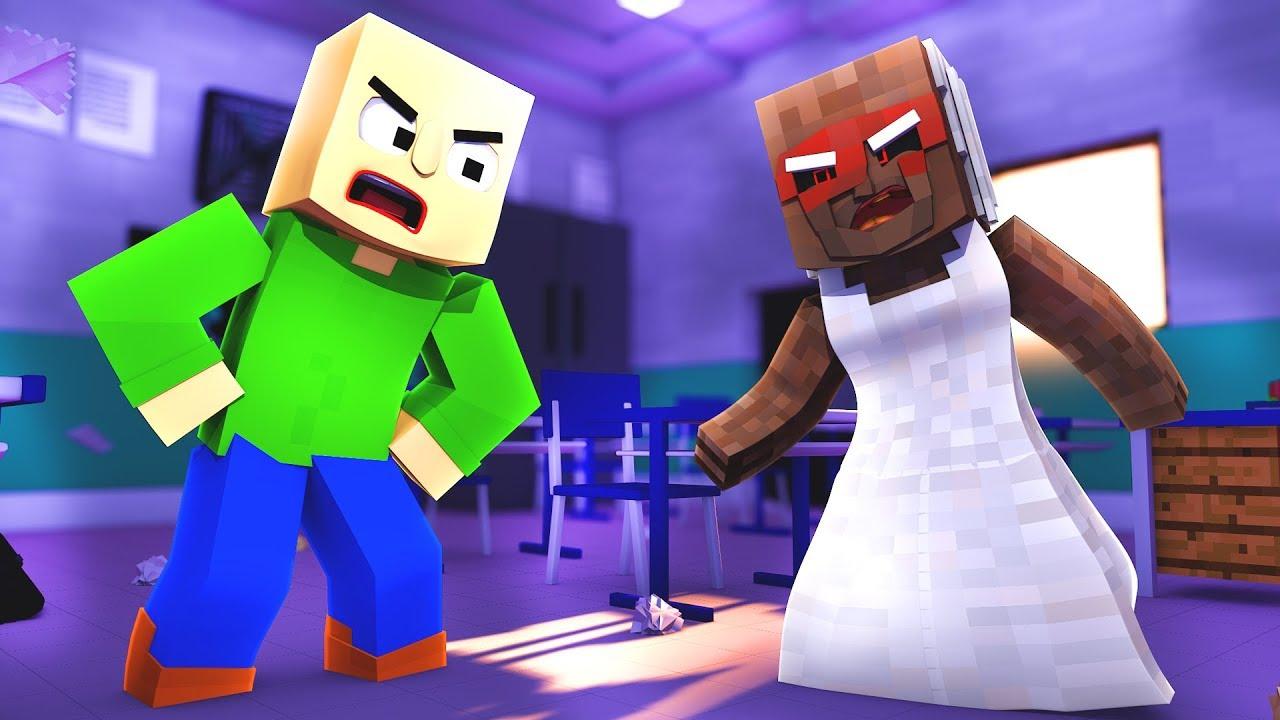 Minecraft ITA - BALDI VS GRANNY!