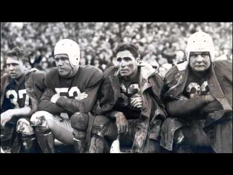 Two Minutes of Pro Football History: The Original Million Dollar Backfield