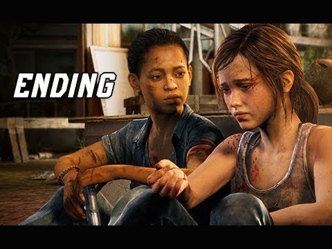 The Last of Us Left Behind Walkthrough Part 4 - ENDING (PS4 Pro 4K Remastered)