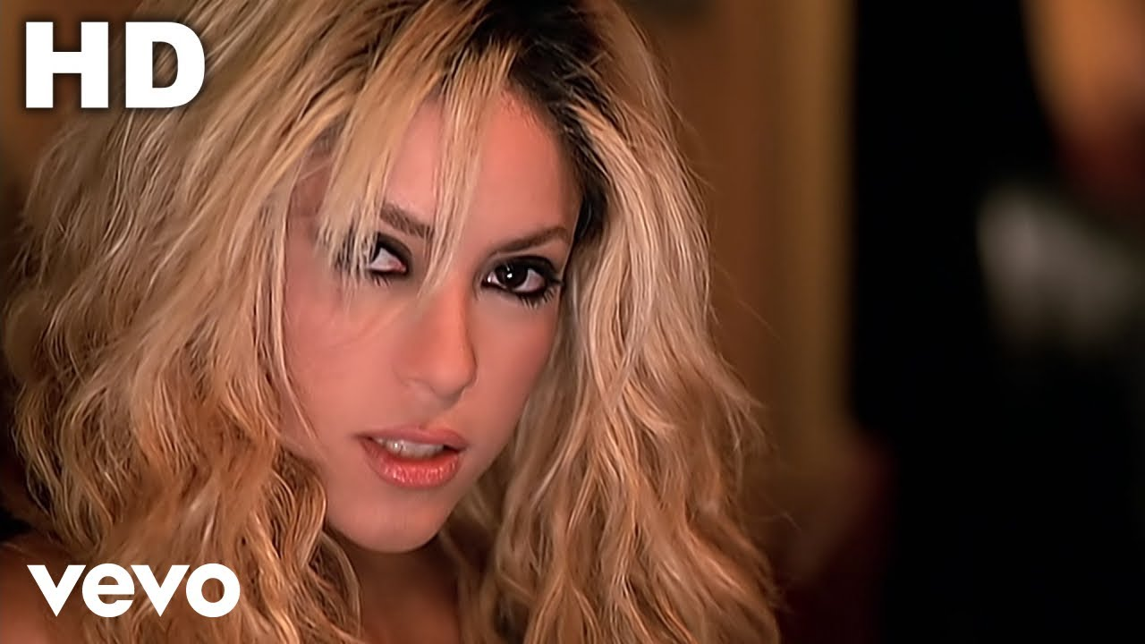 Shakira Underneath Your Clothes Official Music Video Youtube