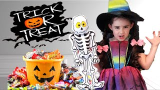 PRETEND PLAY Halloween Party Costume Dress up with mystery SPOOKY box