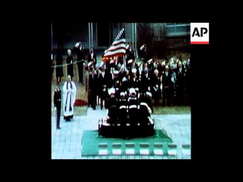 SYND 29-12-72 HARRY S.TRUMAN FUNERAL - YouTube Harry Truman Funeral 1972