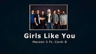 Maroon 5 - Girls Like You ft. Cardi B (Audio) Free Download