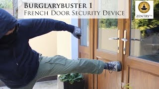 Burglarybuster 1 French Door Lock for opening-outwards French doors