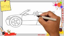 auto zeichnen wie malt man ein auto youtube. Black Bedroom Furniture Sets. Home Design Ideas