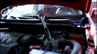 Замена втулок переднего стабилизатора Nissan Qashqai 2,0 Ниссан Кашкай 2012 года