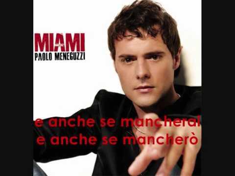 Se Per Te Paolo Meneguzzi Miami 2010 Youtube