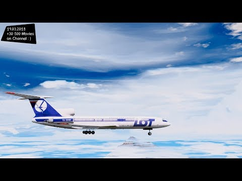 Tupolew tu-154M Туполев Ty-154M Grand Theft Auto V M.G.V.A. MODs Gta5-mods