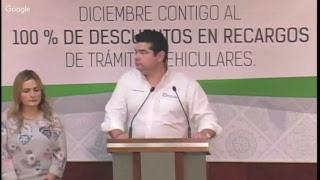 Rueda de Prensa - Secretaría de Hacienda - Dirección General de Recaudación