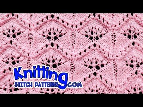 Ginkgo Leaf Lace Knitting 19 Youtube