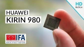 HUAWEI KIRIN 980 è il primo SOC a 7 NANOMETRI Cortex-A76 + AI CUBE