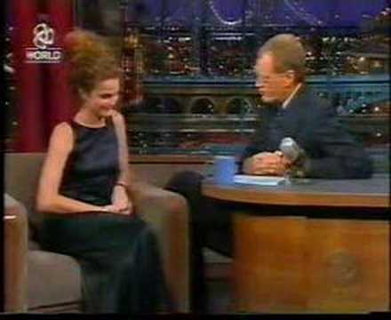 Keri Russell on Letterman 1999