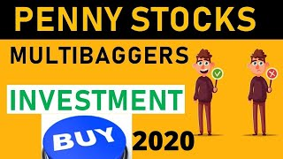 Best Penny Stocks To Invest in 2020
