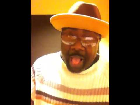 """Marvin Williams sings """"This Little Light of Mine."""""""